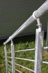 Verzinkter Geländerhandlauf – 1 m / Durchm. 42,4 mm