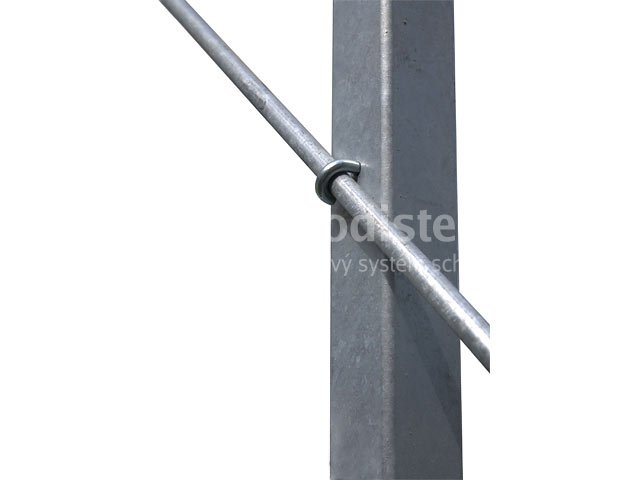 Verzinkter Stab 10 mm – 1 m
