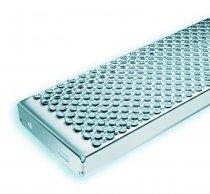 Treppenstufe MARBLE 600 x 250 x 45 mm - EDELSTAHL
