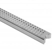 SCHWIMMBADLEITERSPROSSE 530 x 70 x 26 mm - elekt. poliert