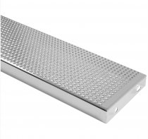 SCHWIMMBADSTUFE 800 x 250 x 40 mm - elekt. poliert