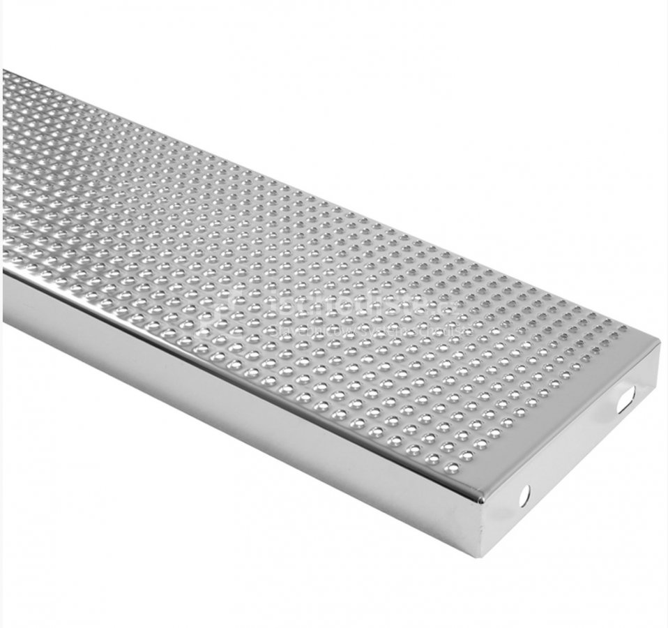SCHWIMMBADSTUFE 1000x250x40 mm - elekt. poliert