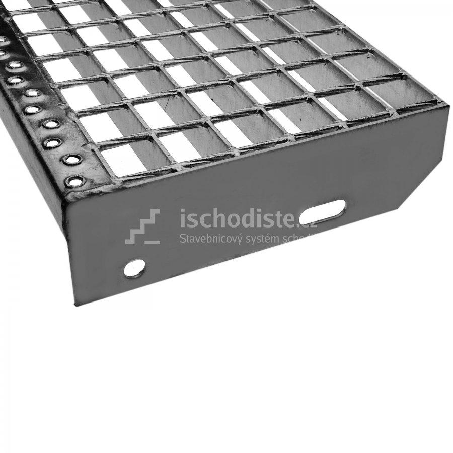 Treppenstufe GITTERROST 1000 x 270 x 30 mm – 34/38 mm